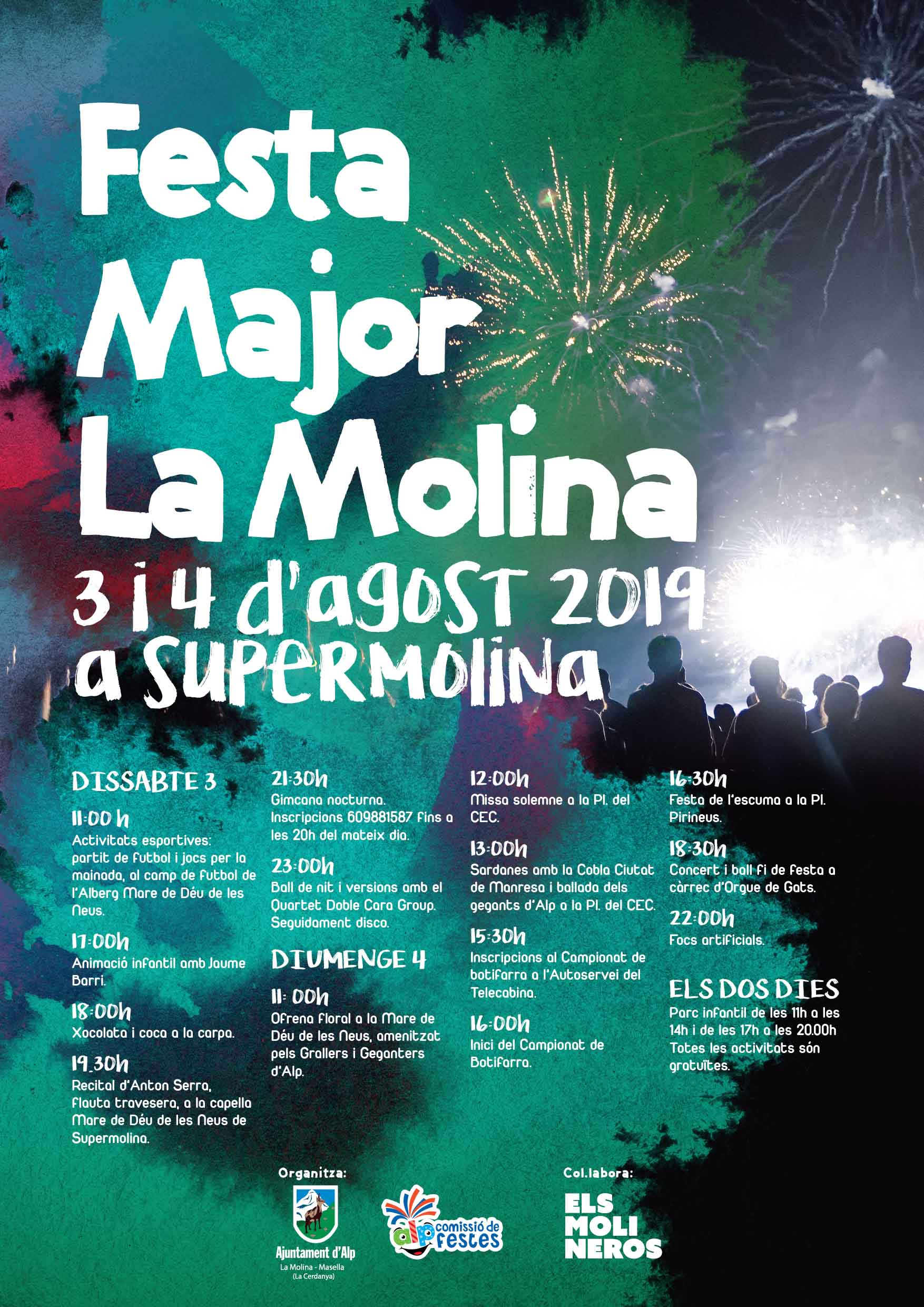 Cartell Festa Major MOLINA