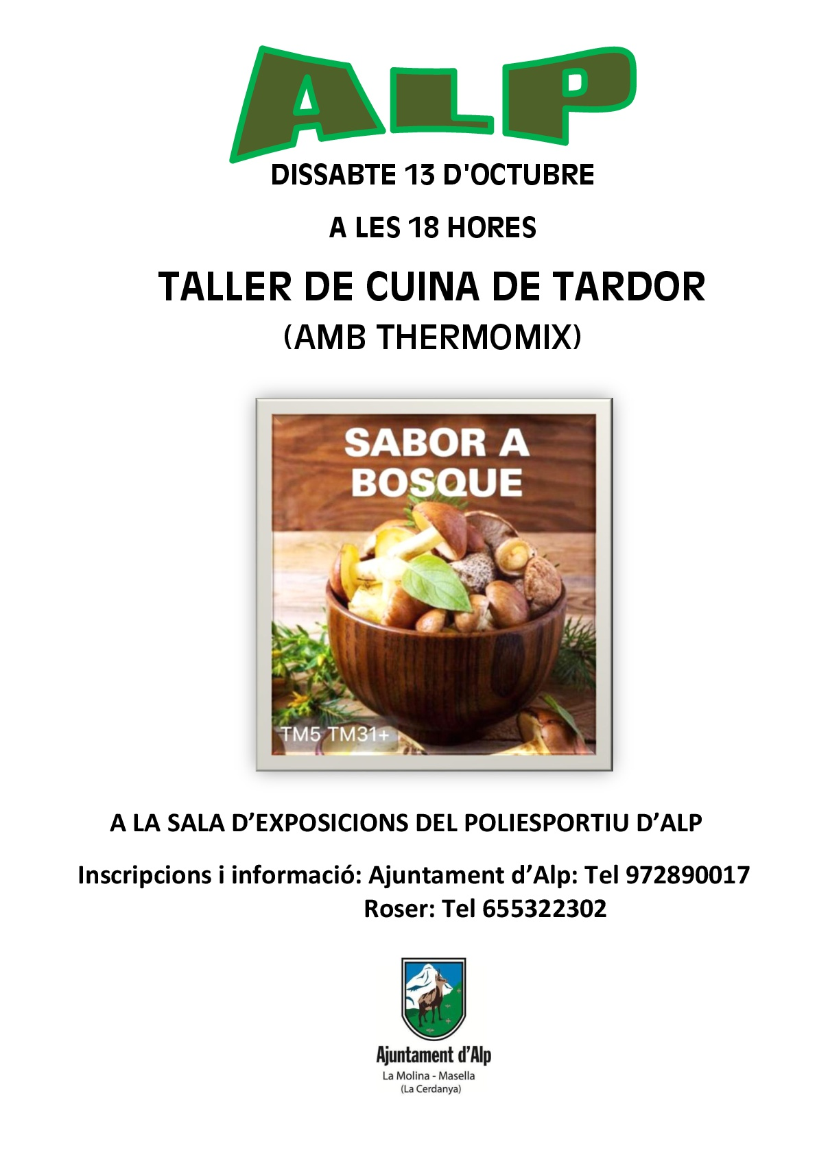 Cartell Taller thermomix