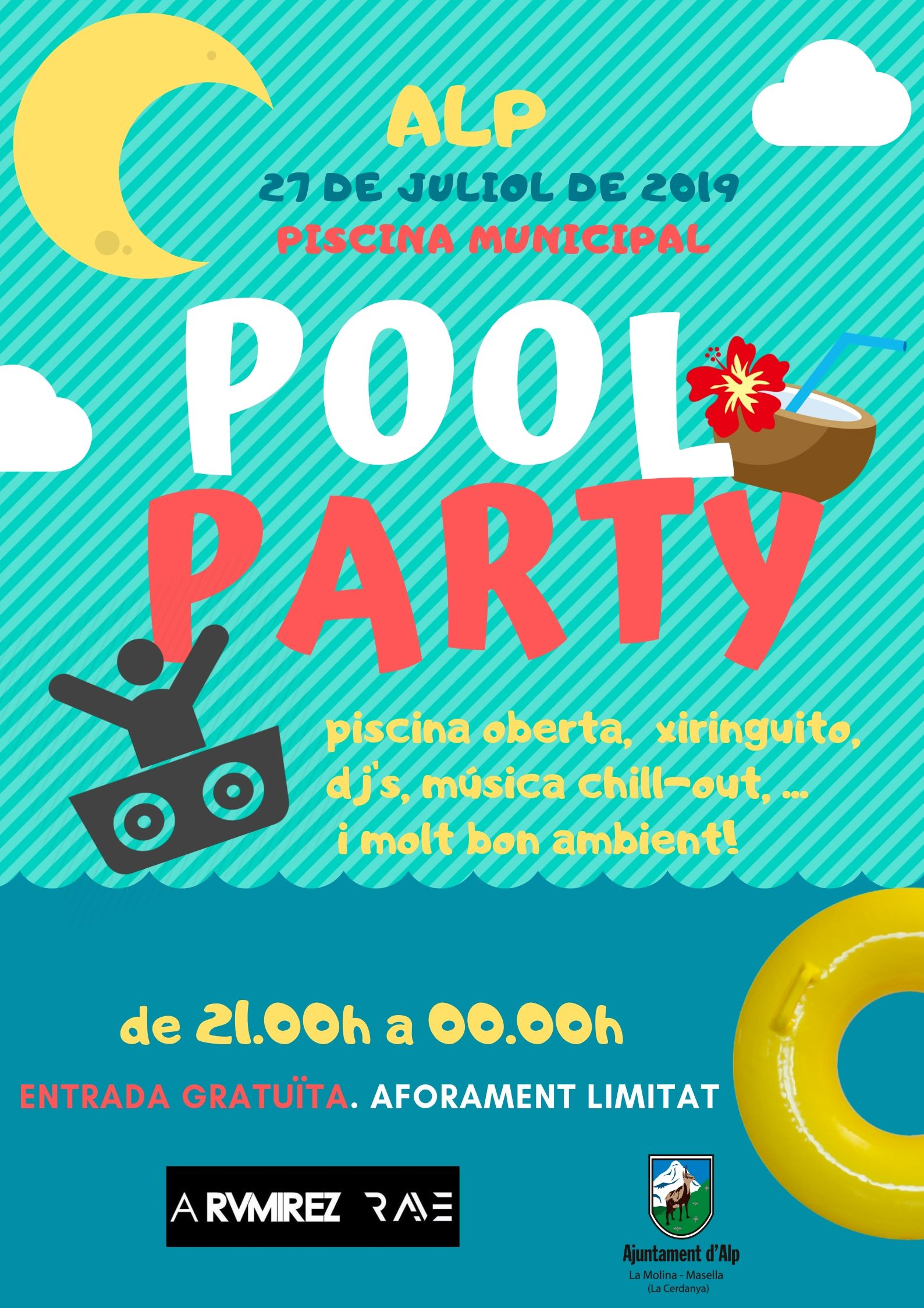 cartell  POOL Party ok