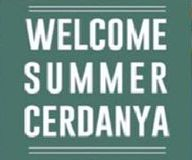 logo welcome summer cerdanya